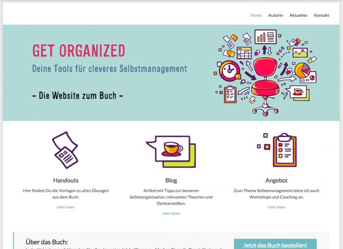 Get Organized Webseite