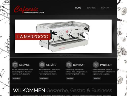 Webseite Cafaesie