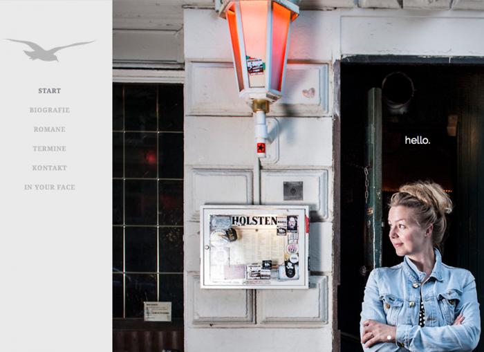 Webseite Simone Buchholz