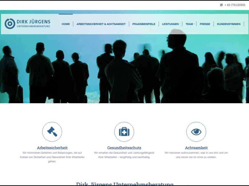 Dirk Jürgens Webseite
